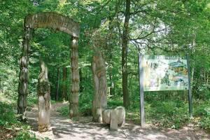 Eingangstor Zauberwald (c) Gemeindeverwaltung Fichtenau