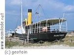 Damp Museumsschiff Albatros