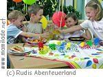 Kindergeburtstag in Rudis Abenteuerland in Hausen