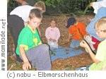 Kindergeburtstag im Elbmarschenhaus in Haseldorf