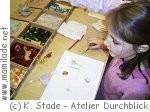 Kinder- und Eventgeburtstag im Atelier Durchblick- Glasgestaltung in Mannheim