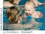 Babyschwimmen im FehMare auf Fehmarn