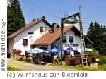 Wirtshaus zur Bleamlalm in Fichtelberg-Neuhaus