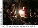 Kindergeburtstag im Maschinenmuseum Kiel-Wik