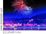 Rhein in Flammen zwischen Linz und Bonn