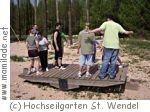 Kinderprogramm im Hochseilgarten St. Wendel