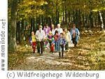Weihnachtszauber im Wildfreigehege Wildenburg Kempfeld