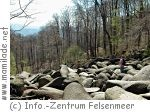 Klettern im Felsenmeer im Odenwald