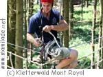 Kindergeburtstag im Kletterwald Mont Royal in Traben-Trabach