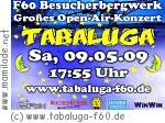Tabaluga im Besucherbergwerk F60 in Lichterfeld