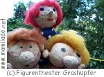 Puppenbau und Puppenspiel im Figurentheater Grashüpfer
