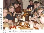 Partygelage im Excalibur