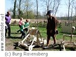 Mittelalter-Spielefest auf Burg Ravensberg