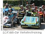Kiddi Car Verkehrstraining Kindergeburtstag
