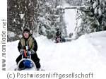 Skigebiet Postwiesen Rodelbahn