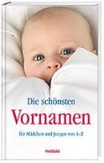 Kinderbuch - Die schönsten Vornamen