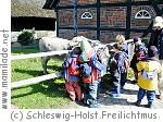 Kindergeburtstag im Freilichtm. in Molfsee bei Kiel