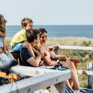 Ferien an der Ostsee. Das ist Freiheit und Spaß für die ganze Familie.  Copyright: TMV/Roth
