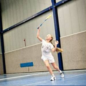 Kindergeburtstag in der Badminton-Halle Tivoli in Aachen