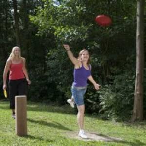 Discgolf beim Schmiedinghausen Park in Bad Fredeburg