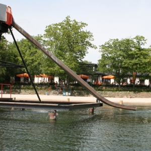 Strandbad Lübars in Berlin