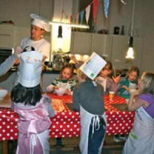"""Kindergeburtstag mit der Kochschule """"Kochabenteuer"""" Berlin"""