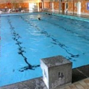 Schwimmhalle Baumschulenweg in Berlin