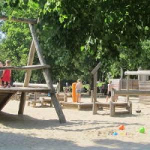 Spielplatz in der Kufsteinerstraße im Volkspark Wilmersdorf