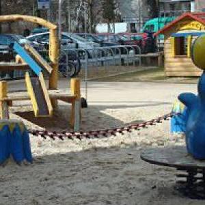 "Spielplatz ""Zirkus"" in der Bornstraße in Berlin"