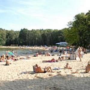 Strandbad Jungfernheide in Berlin