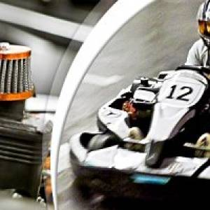 Indoor-Kartbahn in Berlin-Neukölln