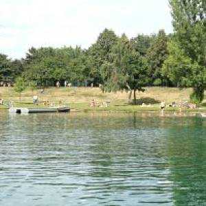 Bielener Kiesgewässer in Nordhausen-Bielen (c) Badehaus Nordhausen Gmbh