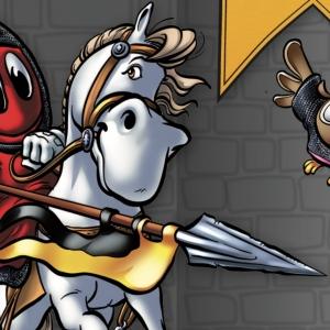 Die Ritter. Leben auf der Burg