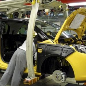 Werksführung bei Opel in Eisenach
