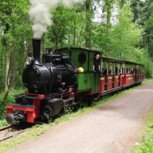 Fahrt mit der Stumpfwaldbahn
