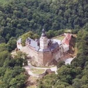Zu Besuch auf der Burg Falkenstein