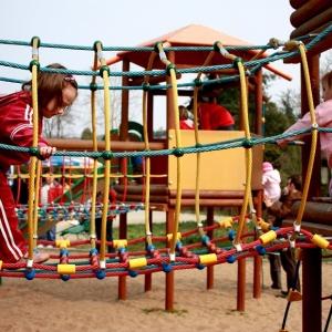 Der Spielplatz Stadtpark in Hamburg