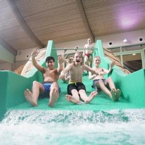 """Das Erlebnisbad """"Die Welle"""" in Gütersloh"""