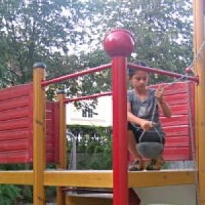 Spielplatz Schillerpark in Dessau