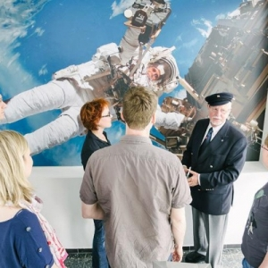 Raumfahrt-Führung in Bremen