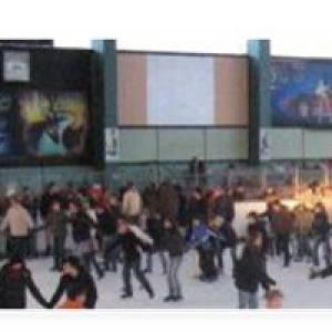 Eislaufen in der Eissporthalle Diez