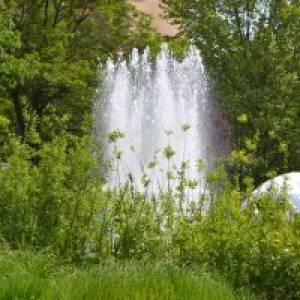 Wasserspiele Enzenaupark Pforzheim