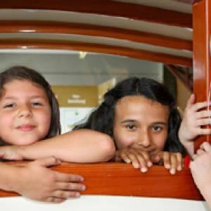 Kinder im Explorado Museum