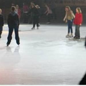 Eislaufen HAINS-Freizeitzentrum in Tharandt/Freital
