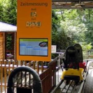 Sommerrodelbahn Petersberg bei Halle