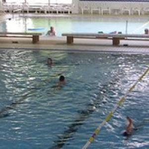 "Schwimmen im Familienbad ""De Bütt"" in Hürth"