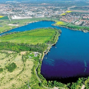 Hufeisensee in Halle