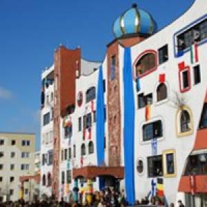 (c) Hundertwasserschule in Lutherstadt Wittenberg