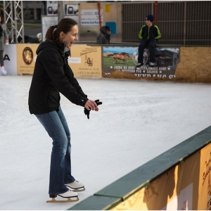 Eisbahn in Tessin