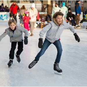 Eislaufen im Snowtropolis